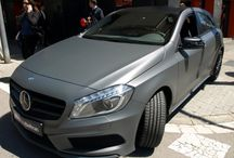Mercedes Benz Clase A integral a Gris Antracita Mate Metalizado - Car Wrapping by Pronto Rotulo / by Pronto Rotulo