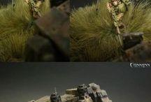 Warhammer diorama