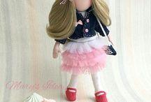 Doll Nika куколка Ника / Кукла Ника имеет рост 22см, самостоятельно стоит. В качестве волос использованы искусственные волосы, имеется сменный гардероб