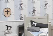 Behang van Onszelf / Wallpaper / Trendy behang voor kinderkamers