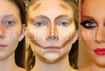 Contouring and make up