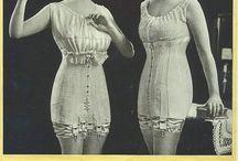 Lingerie, Underware, Nightgown, Bas e Collants, Gloves, Advertisemets / Old, Vintage, Retro