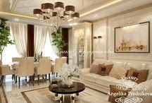 Интерьер квартиры в стиле модерн в Крылатском / Интерьер квартиры в «Крылатском» выполнен в стиле модерн студией Анжелики Прудниковой. В комнатах много свободы и пространства.  Основа оформления – теплые тона, которые создает уютную атмосферу. Мебель и дополнительная техника хорошо вписаны в дизайн, и отлично дополняют общую тематику дома.