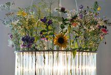 Floral Chandeliers & Garlands