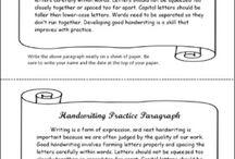 Writing - Handwriting