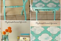 Painted furniture / by Lola Fields
