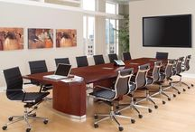 Conference Room Furniture / Your conference room furniture often defines the first impression your clients receive as they meet with your business associates. The furniture in your conference room needs to be stylish and highly functional for your clients and office associates.