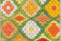 Bargello Bonanza / Bargello patchwork and embroidery. Also known as florentine embroidery.