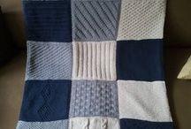 couverture patchwork laine