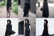 Fashion / Simple yet dark