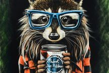 Raccoon madness ❤️ / Animal lover  / by Wencys Macías