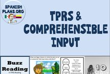 TPRS & CI / Strategies and Activities for implementing storytelling and other comprehensible input activities in world language class
