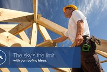 Roofing Solutions / The sky's the limit with our roofing ideas