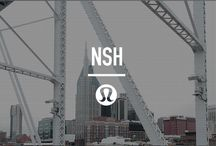 local city guide: Nashville / A local city guide, handpicked by our local team. Our favourite places to sweat, eat, drink and spend our days.  / by lululemon