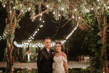Night Outdoor Wedding Inspiration