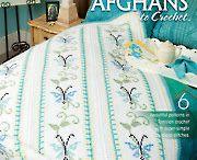 Tunisian Crocheted Rugs