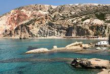 Milos île grecque des Cyclades