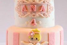 taart kleine meisjes