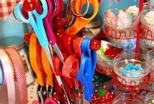 Craft room organization / by Kristin Burton