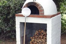 Pizza pec, gril, oheň- Pizza oven, grill and fire