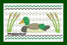 Faux Smocked Designs / Embroidery Designs