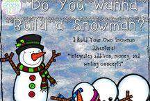 Teaching- Snowmen