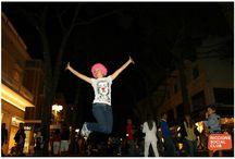 Jump Point Fai un salto a Riccione / Set fotografico di salti in viale Ceccarini. 29-30-31 Agosto duemilacredici!