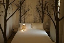 Natural theme bedroom