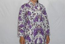 Blus Batik Lengan 7/8 [B1167]