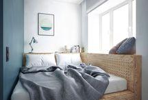 Спальня подиум