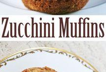 Zucchini bread + Zucchini Cakes