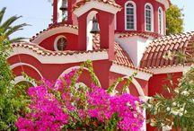 monastery   Greece