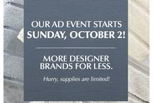 Ad Event / Check out the exciting new closeout deals coming to Tuesday Morning!