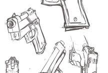 rysunki broni