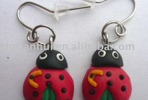 clay earrings