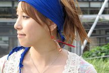 rayon hippie headband scarf wrap