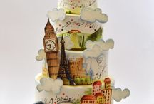 cake towns and cities theme
