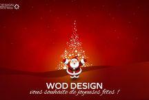 Joyeuses fetes ! / www.wod-design-agenceweb.fr vous souhaites de bonnes fêtes!