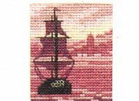 punto croce: navi