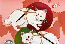 Yuko and Ninja Cats
