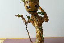 bebe groot porcelaine froide / je s'appelle groot