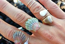 sea shells jewelry