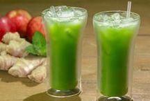 suco de espinafre detox