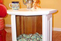 DIY Ideas for your Pets! / We all love DIY projects...here are some of our favorites for our furry four-legged friends!