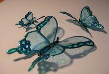florès en butei en plastique
