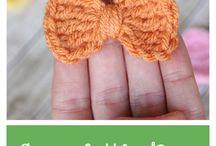 little bow crochet