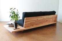 Hjemmesnekra møbler