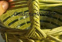 Плетение: корзины / МК, идеи плетения корзин
