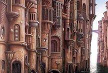 Art by Jacek Yerka