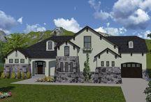 Ramblers / Rambler House Plans designed by Walker Home Design